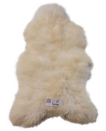 witte schapenvacht S090