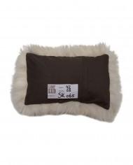 schapenvacht kussen achterkant sk065